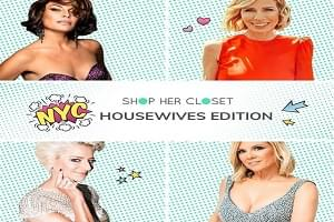 Shop the Closets of 'Real Housewives of New York' for Charity