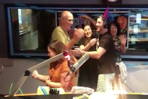 Johnny on the Streets' Surprise 29th Birthday Bash