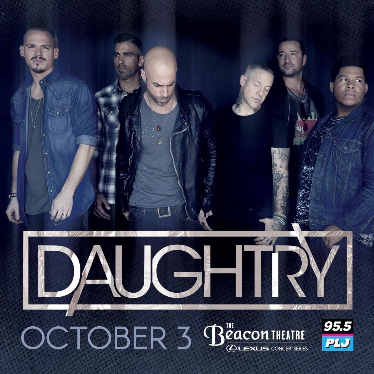 Win Tickets to 95.5 PLJ Presents Daughtry!
