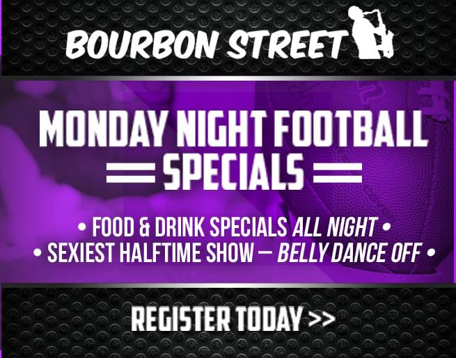 Win a VIP Table for 4 at Bourbon Street in Bayside!
