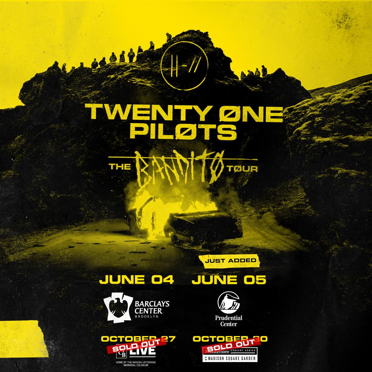 Win Twenty One Pilots Tickets All Weekend Long!