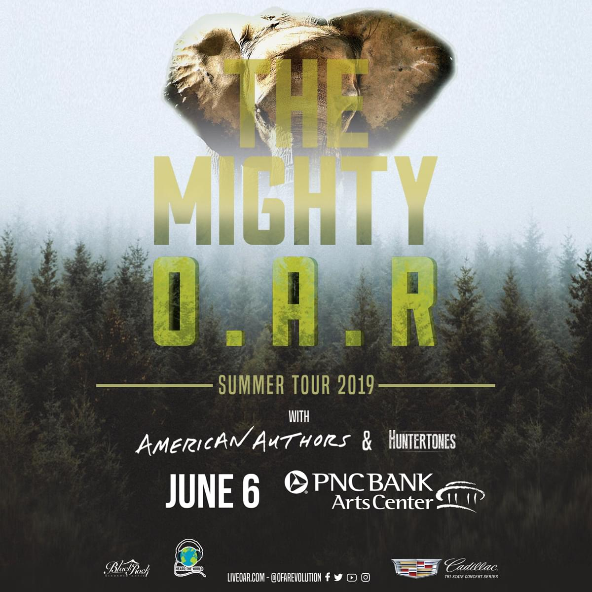 Win Tickets to See O.A.R.!