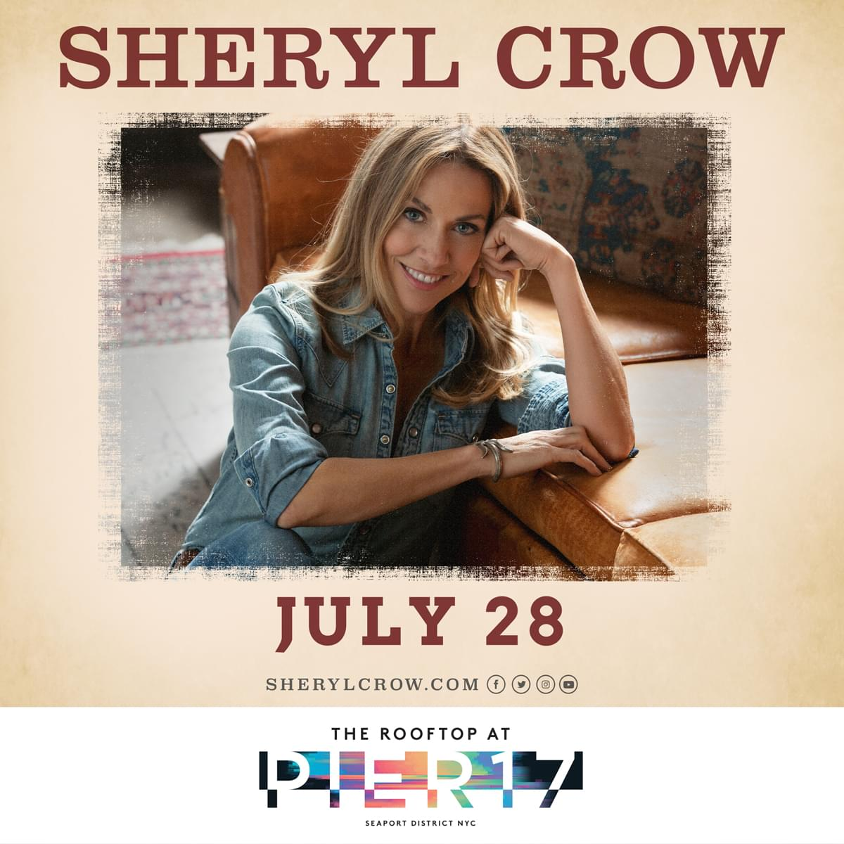 Win Tickets to Sheryl Crow!