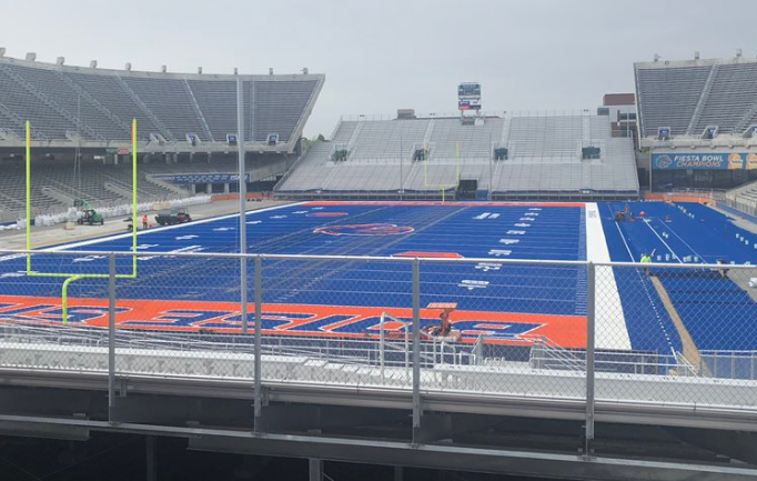 Boise State to unveil the newest edition of The Blue