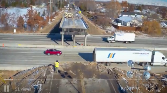WATCH: Time lapse of IDT demolition of the Cloverdale Overpass in just 2 days!