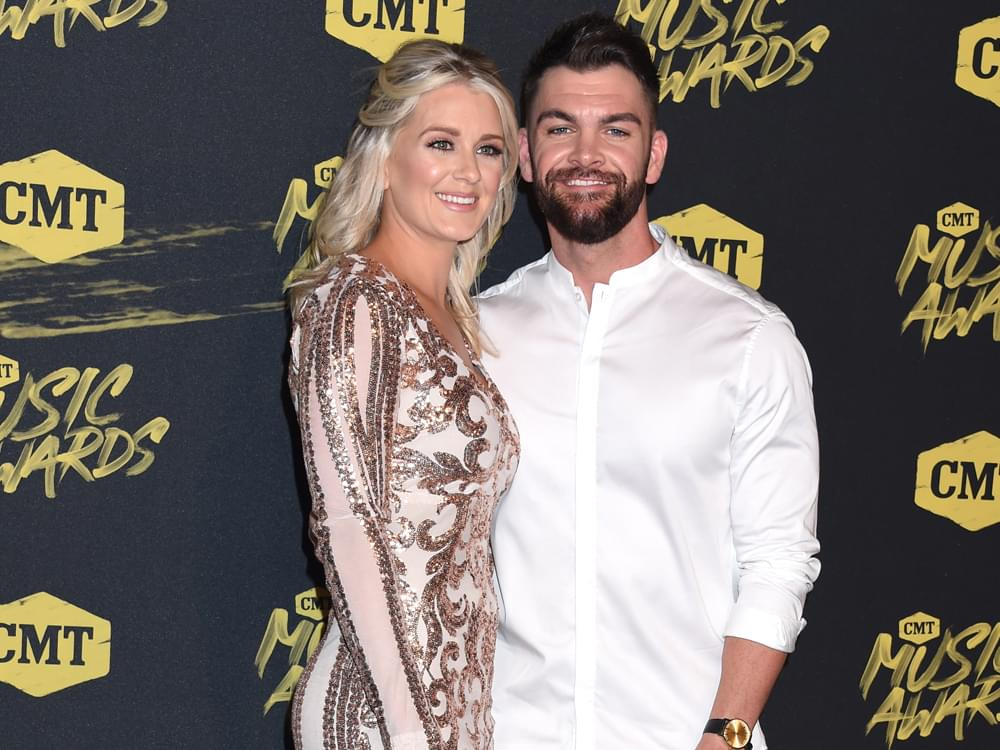 Dylan Scott and Wife Welcome Baby Girl, Finley Gray