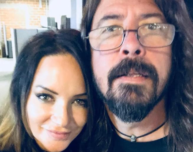 Dave Grohl confirming once again, he's the coolest guy in rock
