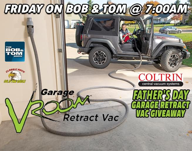 Father's Day Vroom Garage Retract Vac Giveaway