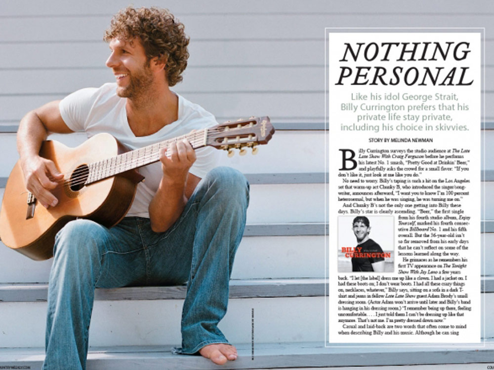 Country Weekly 2010-10-25 The Very Private Life of Billy Currington