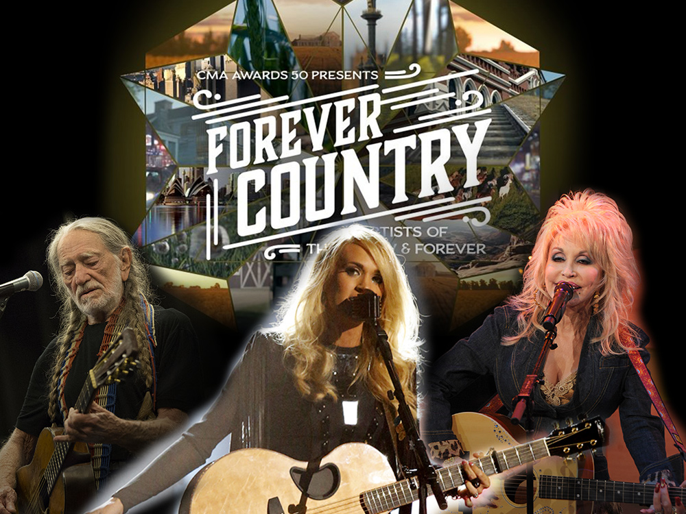 "If You Thought 30 Stars Were Going to Be Onstage Singing ""Forever Country"" at the CMA Awards, Think Again"