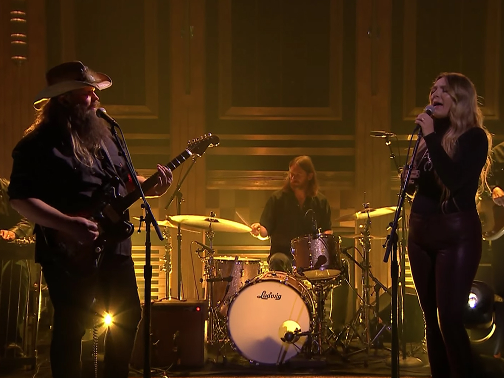"Watch Morgane and Chris Stapleton's Chilling Performance of ""You Are My Sunshine"" on ""Jimmy Fallon"""