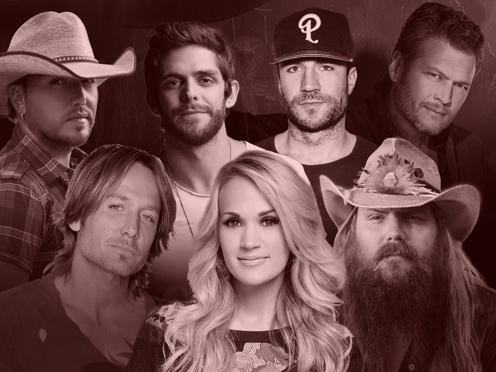 The 10 Best-Selling Country Albums of 2016 Include Blake Shelton, Keith Urban & Carrie Underwood—But Who's No. 1?
