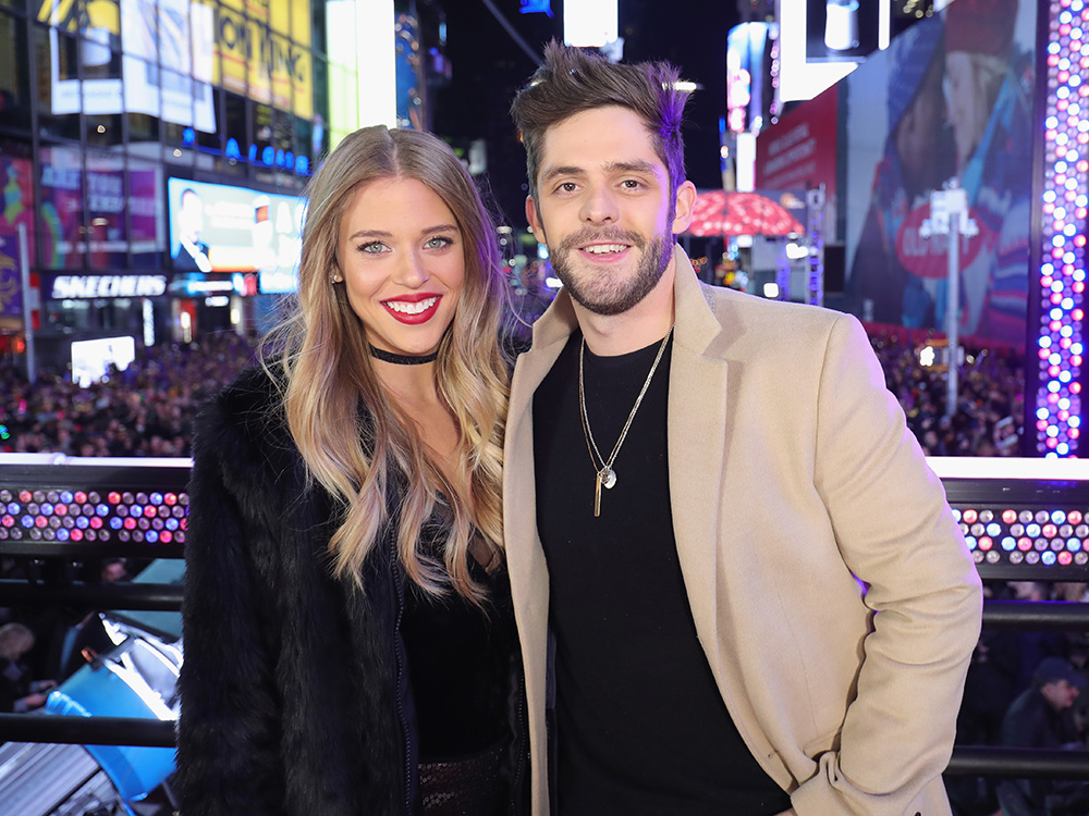 Out With the Old, in With the New: See How Thomas Rhett, Carrie Underwood, Karen Fairchild and More Welcome 2017