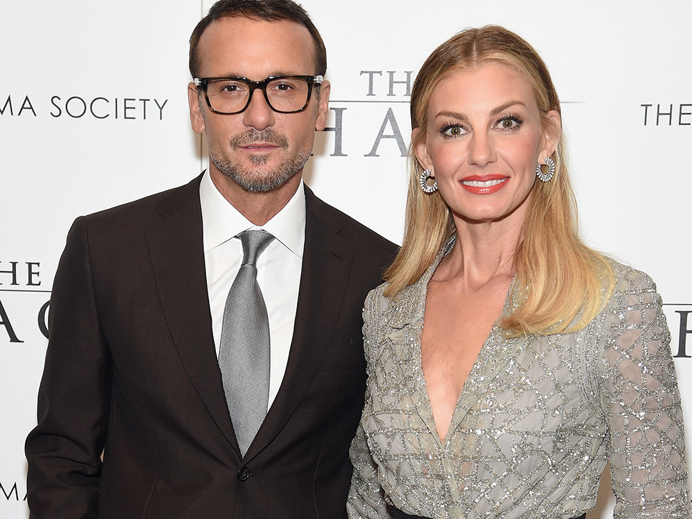 "Tim McGraw and Faith Hill Take Manhattan For the Premiere of ""The Shack"""