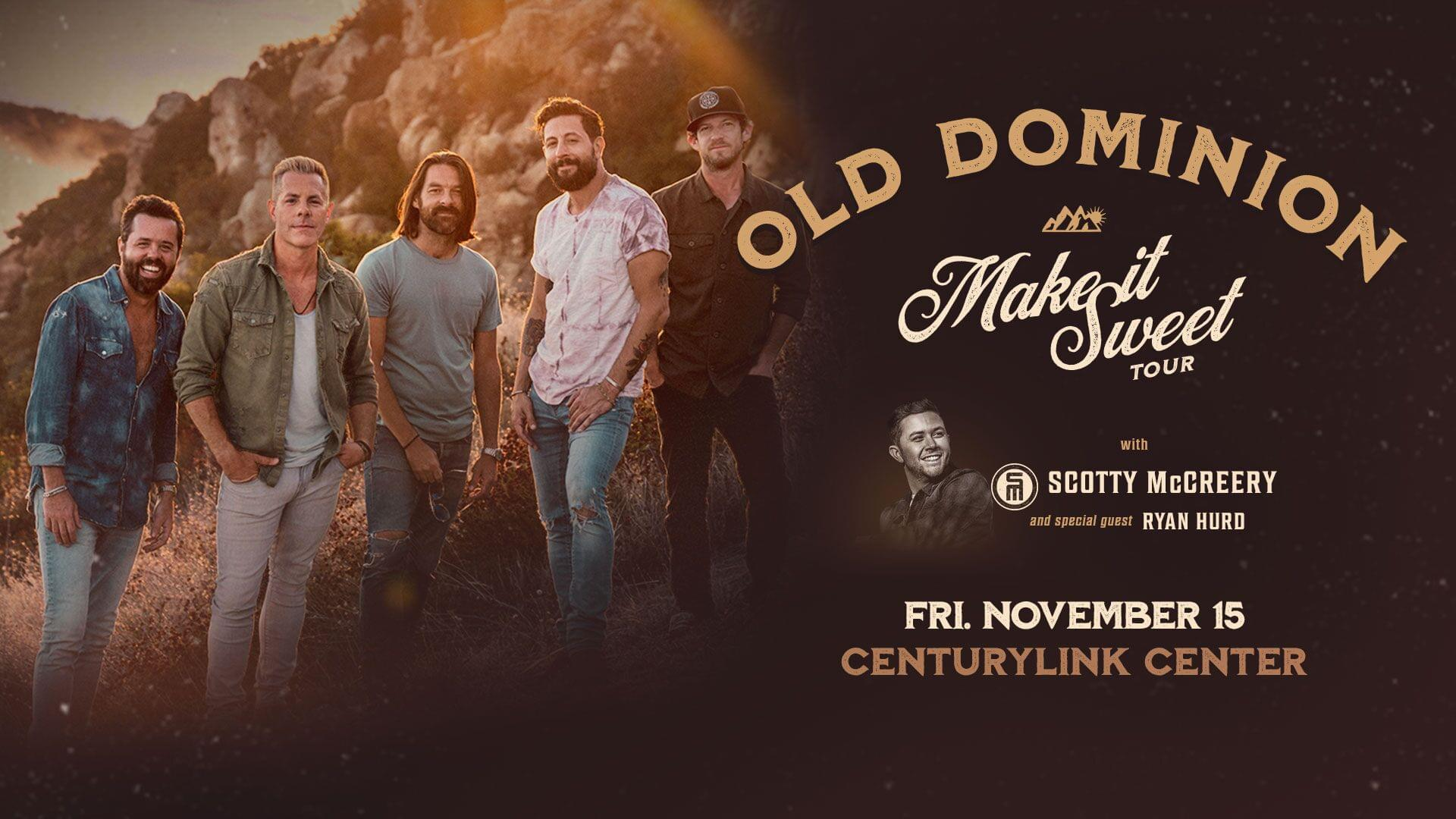 Win Tickets To See Old Dominion