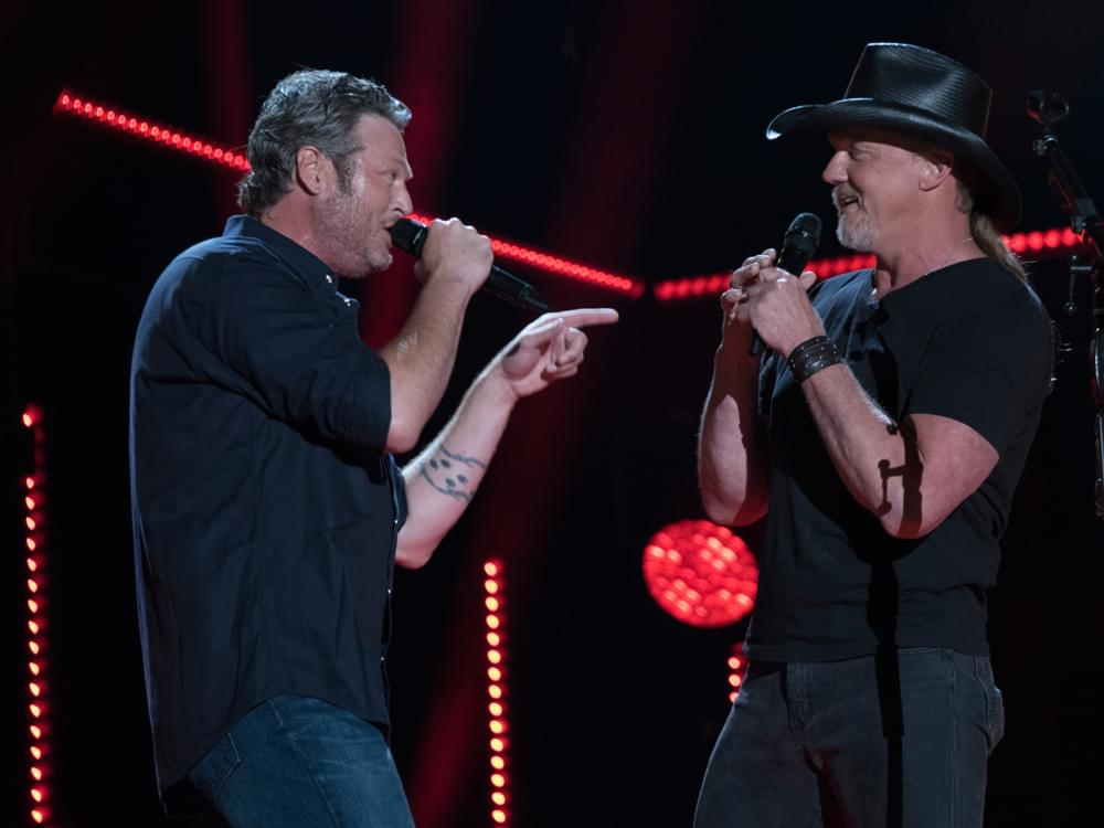 "Blake Shelton Announces New Single, ""Hell Right,"" Featuring Trace Adkins"