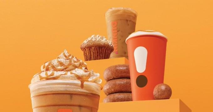 Get Ready!  Pumpkin Flavored Everything Is Coming To Dunkin Next Week!