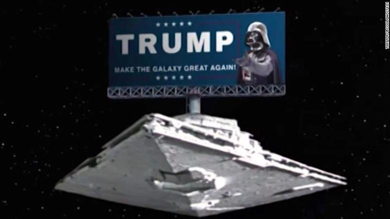Internet takes aim at Trump's Space Force