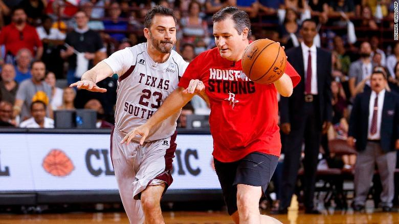 Ted Cruz, Jimmy Kimmel to face off in one-on-one basketball game to benefit charity.