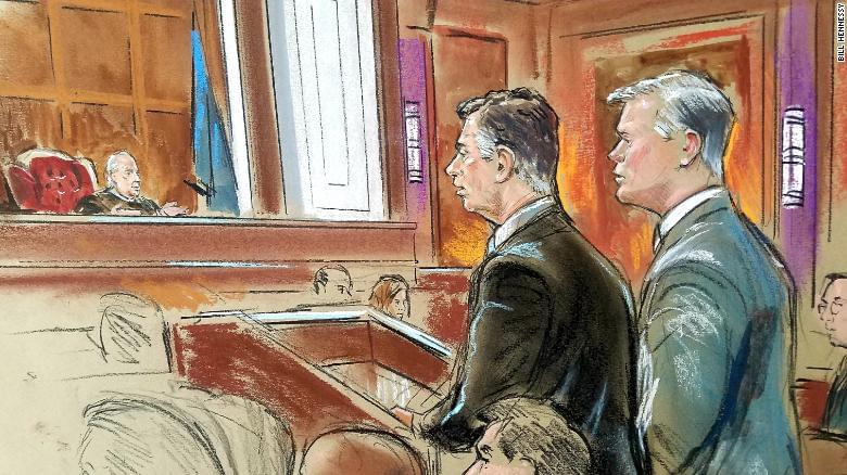Manafort defense reminds jurors of government's high burden of proof.