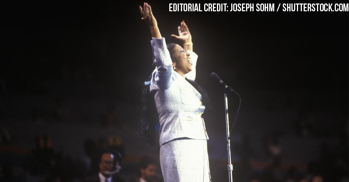 What it was like to work with Aretha Franklin