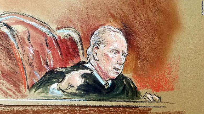 Manafort judge says he's received threats during the trial; Trump calls trial 'very sad'.