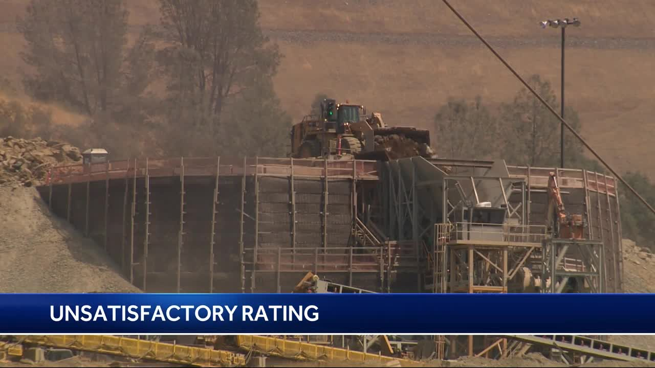 Oroville dam gets unsatisfactory rating (AGAIN) | KABC-AM