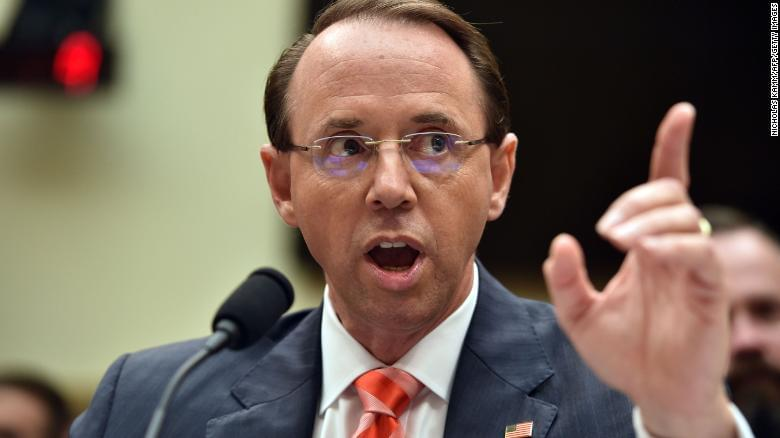New York Times: Rod Rosenstein discussed secretly taping Trump