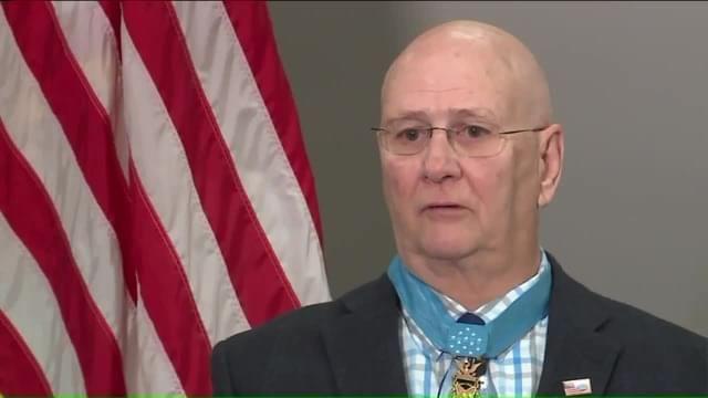 Medal of Honor Recipient Gives Hope to Bullied Students