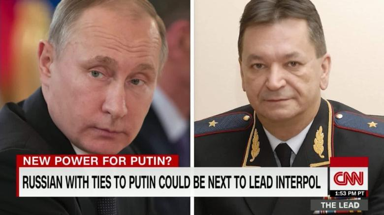 Russian with ties to Putin could be next to lead Interpol