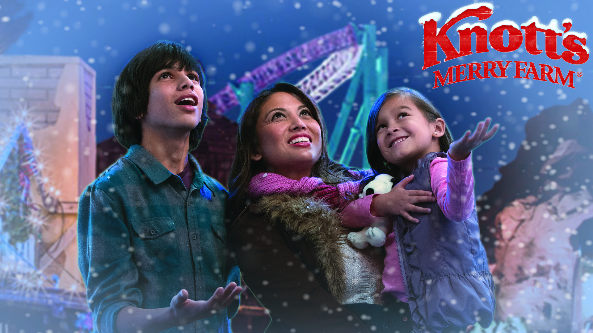 Listen for your chance at tickets to Knott's Merry Farm!