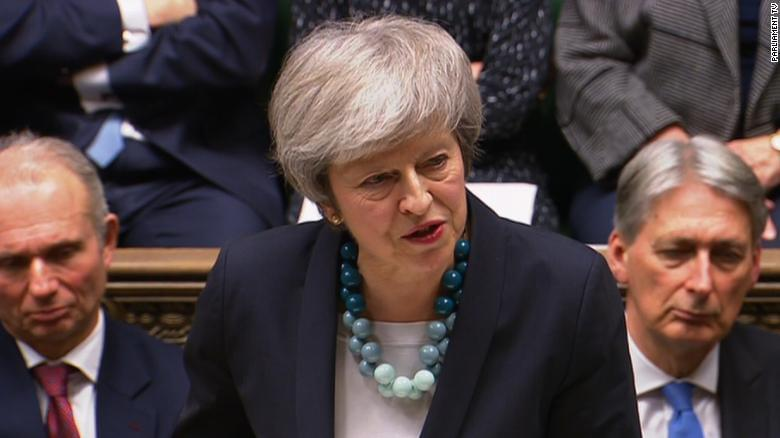 May faces no-confidence vote amid Brexit chaos
