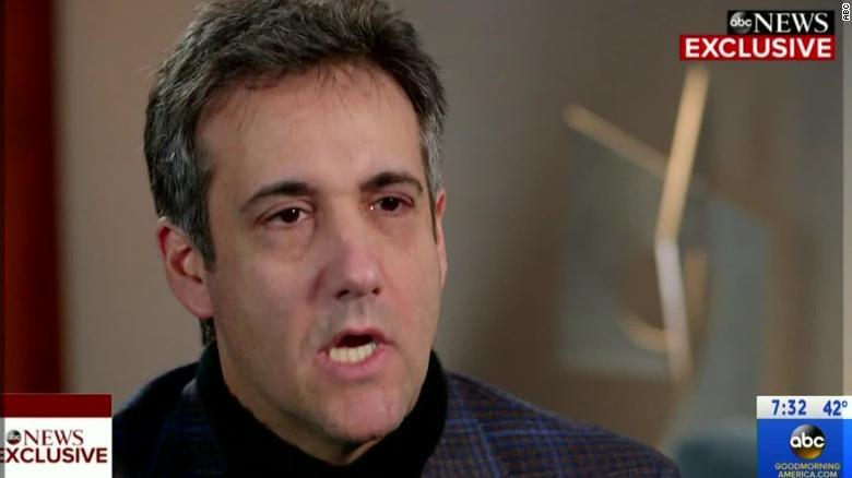Cohen: I'm done being loyal to President Trump