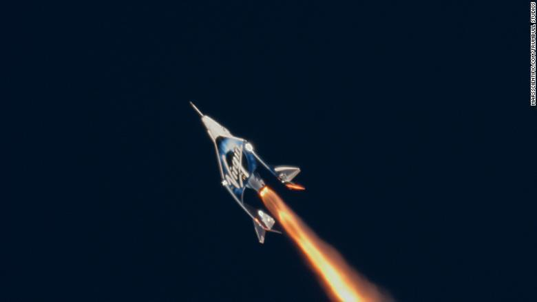 See Virgin Galactic's historic spaceflight