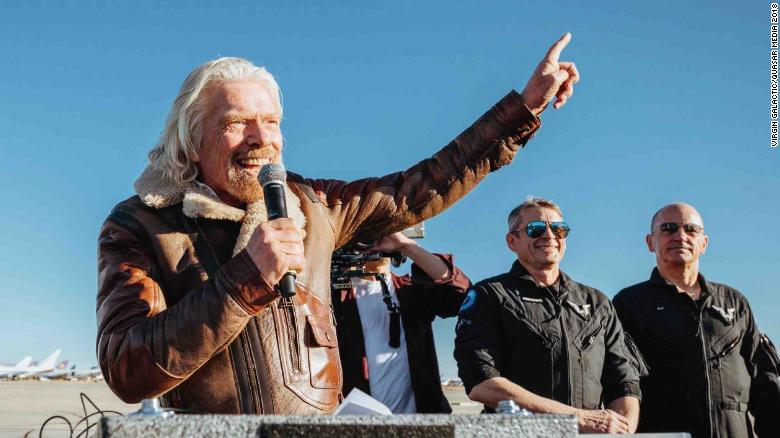 Richard Branson: I'll be in space within six months