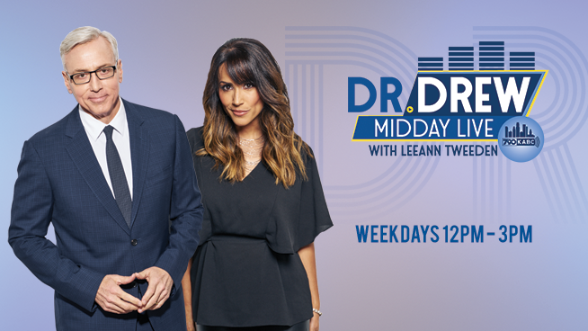 Dr  Drew Midday Live with Leeann Tweeden – Weekdays Noon-3pm