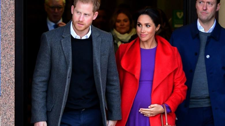 Meghan Markle gives hint about her due date