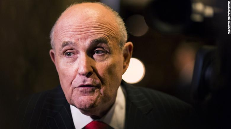 Giuliani Calls BuzzFeed Claims 'Categorically False'
