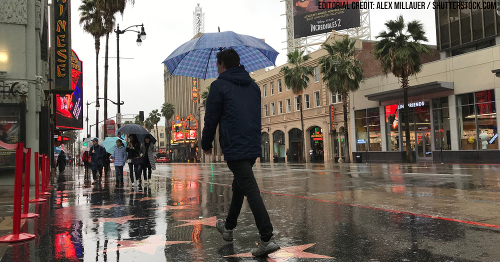 'Pineapple express' drenches California with rain, snow and flooding