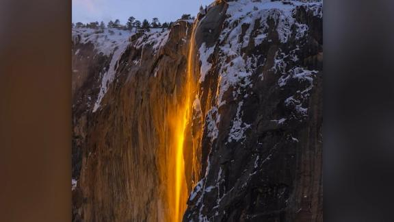 'Firefall' is back and glowing at Yosemite National Park