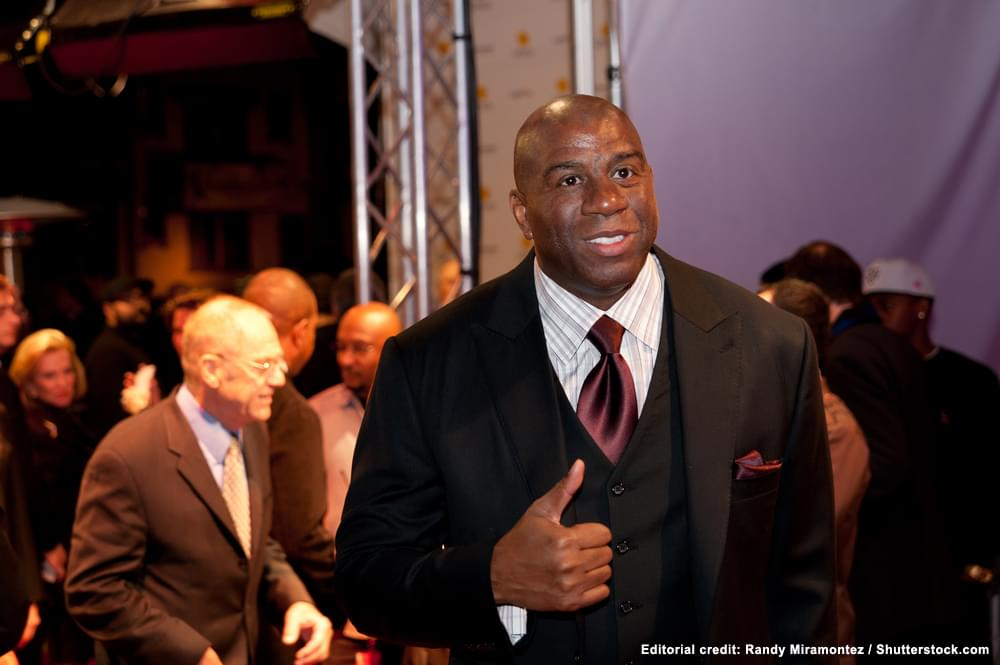 There's war of words between basketball legend Magic Johnson and the Los Angeles Lakers general manager.