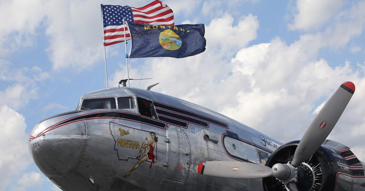 A WWII-era plane is headed to the Bahamas to deliver aid after Hurricane Dorian
