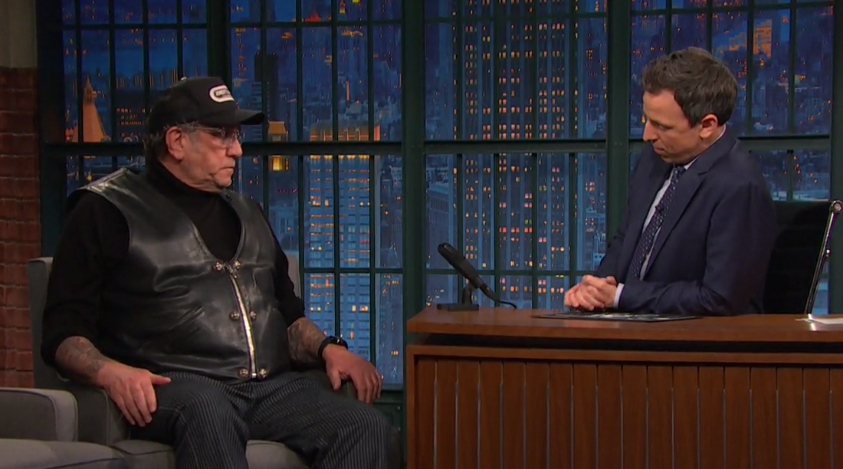 Steve Jones on Late Night with Seth Meyers