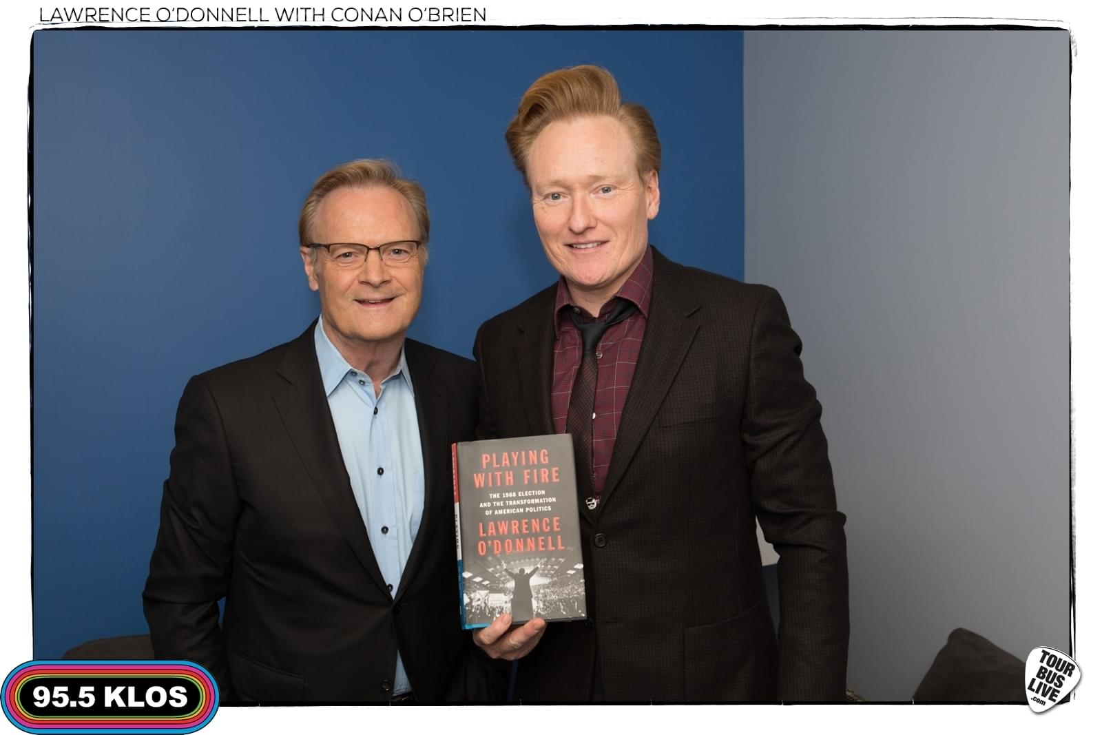 Lawrence-Odonnell-Conan-Obrien Photos
