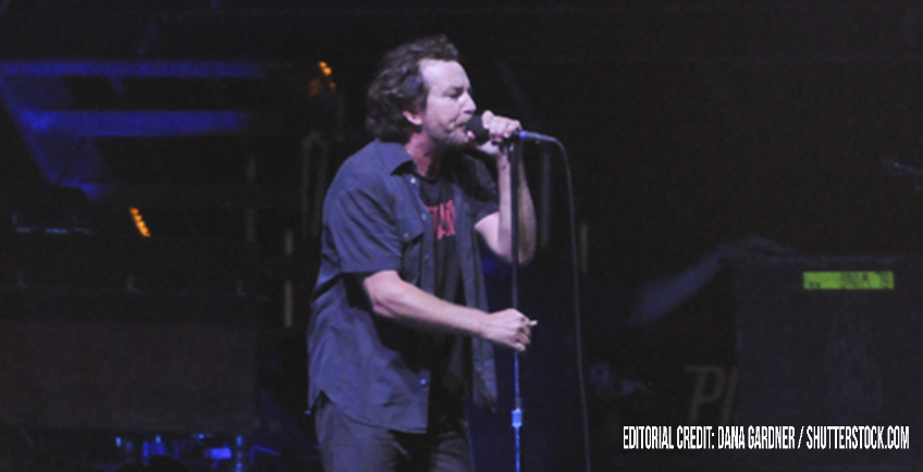 Eddie Vedder reunites with the cameraman who helped his death-defying stage dive