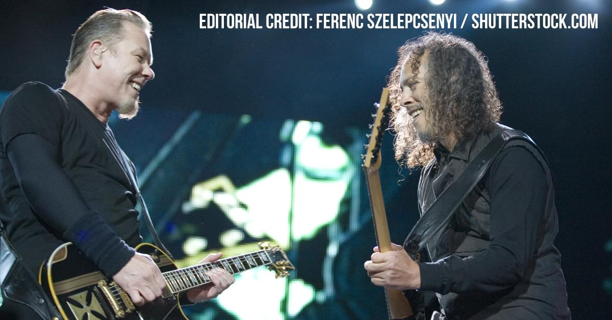 Metallica Donates All Polar Music Prize Money To Various Charities
