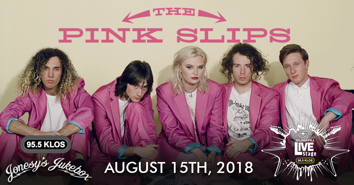 ENTER TO WIN: The Pink Slips live from the KLOS Subaru Live Stage
