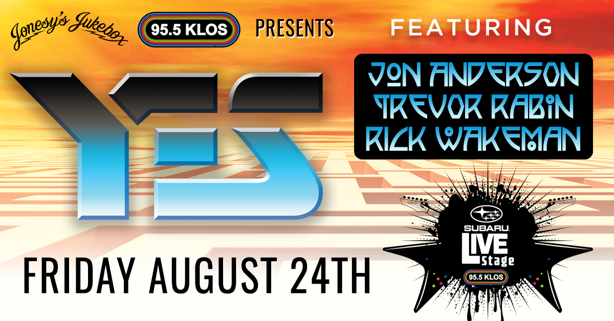 ENTER TO WIN ACCESS: YES Live from the KLOS Subaru Live Stage