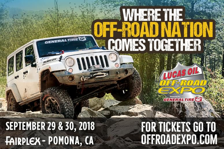 ENTER TO WIN TICKETS TO OFF-ROAD EXPO!