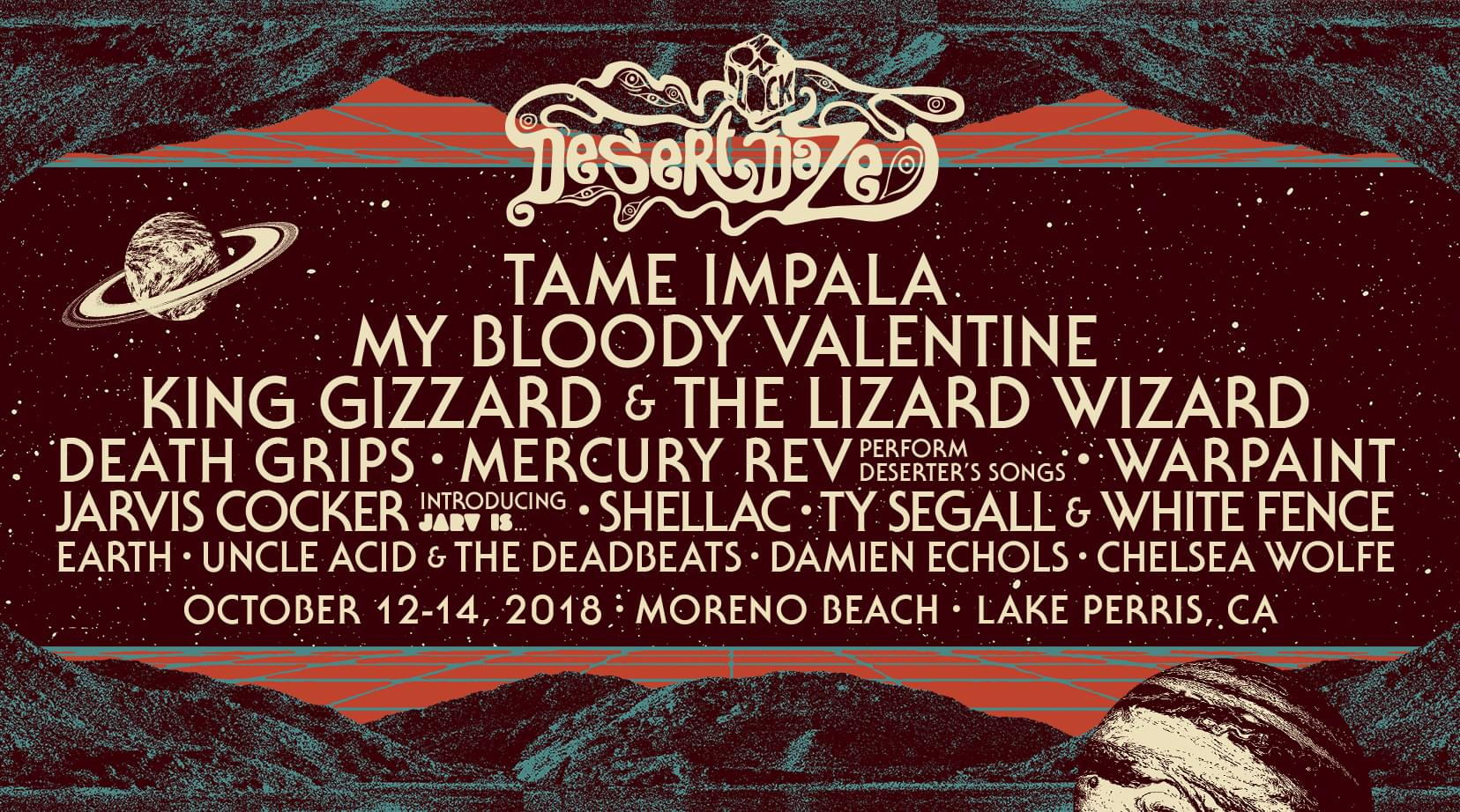 ENTER TO WIN WEEKEND PASSES TO DESERT DAZE 2018